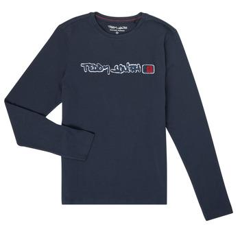 Odjeća Dječak  Majice dugih rukava Teddy Smith CLAP Blue