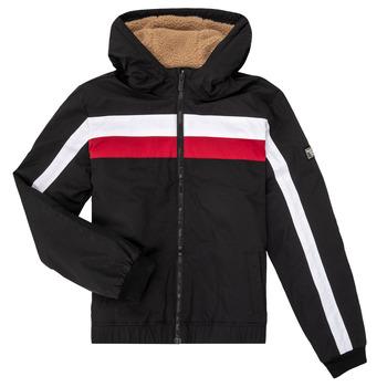 Odjeća Dječak  Kratke jakne Teddy Smith BROCK Crna