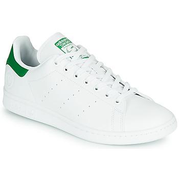 Obuća Niske tenisice adidas Originals STAN SMITH VEGAN Bijela / Zelena