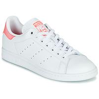 Obuća Žene  Niske tenisice adidas Originals STAN SMITH W Bijela / Ružičasta
