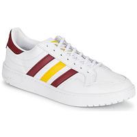 Obuća Niske tenisice adidas Originals TEAM COURT Bijela / Bordo / Žuta