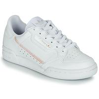 Obuća Djevojčica Niske tenisice adidas Originals CONTINENTAL 80 J Bijela