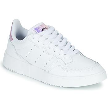 Obuća Djeca Niske tenisice adidas Originals SUPERCOURT J Bijela