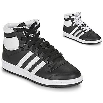 Obuća Djeca Niske tenisice adidas Originals TOP TEN J Crna / Bijela