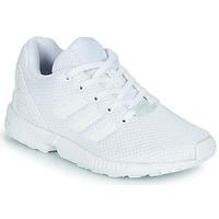 Obuća Djeca Niske tenisice adidas Originals ZX FLUX C Bijela