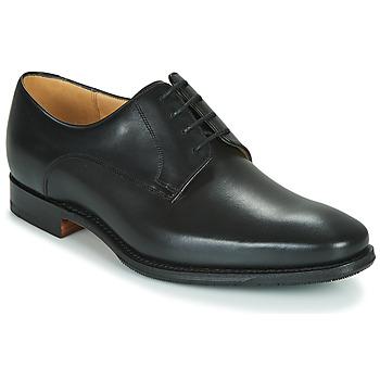 Obuća Muškarci  Derby cipele Barker ELLON Crna