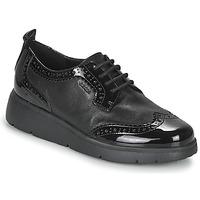 Obuća Žene  Derby cipele Geox ARLARA Crna