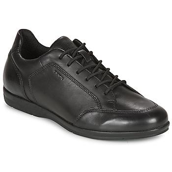 Obuća Muškarci  Derby cipele Geox ADRIEN Crna