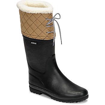 Obuća Žene  Čizme za snijeg Aigle POLKA GIBOULEE Bež