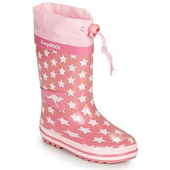 Obuća Djevojčica Gumene čizme Kangaroos K-RAIN Ružičasta