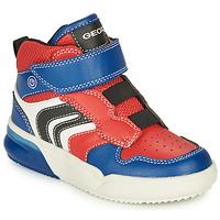 Obuća Dječak  Visoke tenisice Geox GRAYJAY Red / Blue