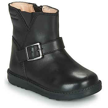 Obuća Djevojčica Čizme za grad Geox HYNDE WPF Crna