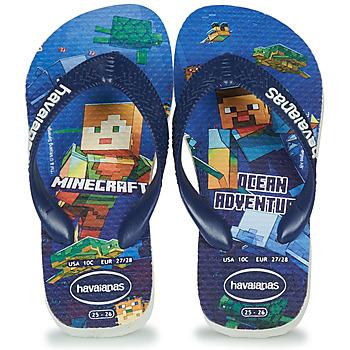 Obuća Dječak  Japanke Havaianas Kids Minecraft Blue