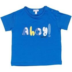 Odjeća Dječak  Majice kratkih rukava Nanan E20174 Avio