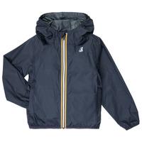 Odjeća Djeca Vjetrovke K-Way LE VRAI 3.0 CLAUDE KIDS Blue