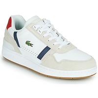Obuća Muškarci  Niske tenisice Lacoste T-CLIP 0120 2 SMA Bijela / Red