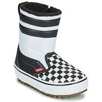 Obuća Djeca Čizme za snijeg Vans YT SLIP-ON SNOW BOOT MTE Crna / Bijela