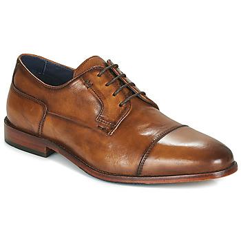 Obuća Muškarci  Derby cipele Azzaro TILLEUL Boja konjaka