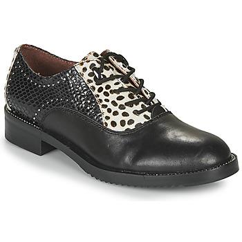 Obuća Žene  Derby cipele Café Noir JEREL Crna / Bijela