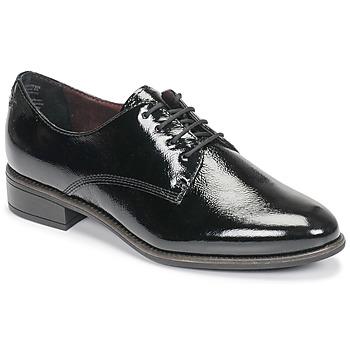 Obuća Žene  Derby cipele Tamaris JEANY Crna