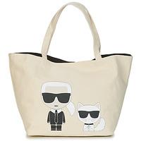 Torbe Žene  Shopper torbe Karl Lagerfeld K/IKONIK KARL & CHOUPETTE TOTE Crna