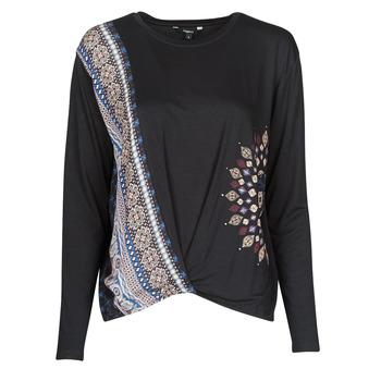 Odjeća Žene  Majice dugih rukava Desigual MARSELLA Blue