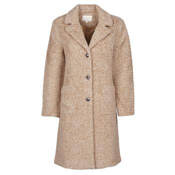 Odjeća Žene  Kaputi Cream AMELIA COAT Bež