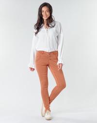 Odjeća Žene  Hlače s pet džepova Cream HOLLY CR TWILL Smeđa