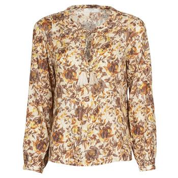 Odjeća Žene  Topovi i bluze Cream AUGUSTA BLOUSE Multicolour