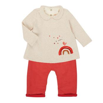 Odjeća Djevojčica Dječji kompleti Catimini CR36031-60 Ružičasta