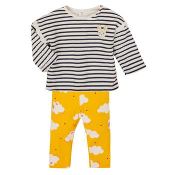 Odjeća Djevojčica Dječji kompleti Catimini CR36041-71 Multicolour