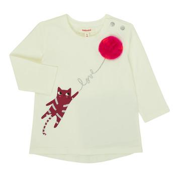Odjeća Djevojčica Majice dugih rukava Catimini CR10063-11 Ružičasta