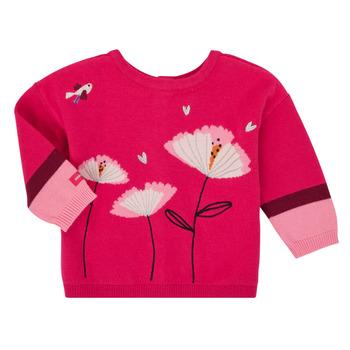 Odjeća Djevojčica Veste i kardigani Catimini CR18033-35 Ružičasta