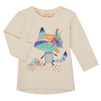 Odjeća Djevojčica Majice dugih rukava Catimini CR10053-12 Bijela