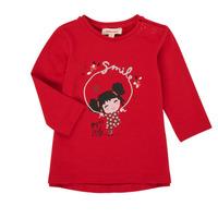Odjeća Djevojčica Majice dugih rukava Catimini CR10043-38 Red
