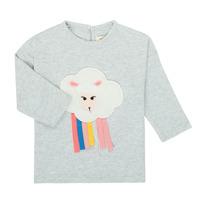Odjeća Djevojčica Majice dugih rukava Catimini CR10093-21 Siva