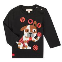 Odjeća Dječak  Majice dugih rukava Catimini CR10022-02 Crna