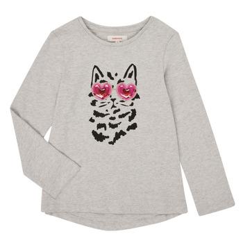 Odjeća Djevojčica Majice dugih rukava Catimini CR10275-26-J Siva