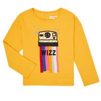 Odjeća Djevojčica Majice dugih rukava Catimini CR10135-72-C Žuta