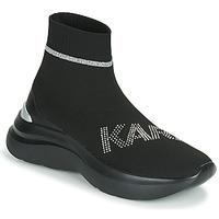 Obuća Žene  Visoke tenisice Karl Lagerfeld SKYLINE KARL RHINESTONE PULL ON BT Crna