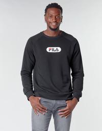 Odjeća Muškarci  Sportske majice Fila BAHA RAGLAN CREW Crna