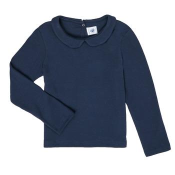 Odjeća Djevojčica Majice dugih rukava Petit Bateau LOVING Blue