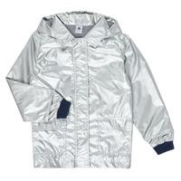 Odjeća Djevojčica Parke Petit Bateau LAETICIA Srebrna