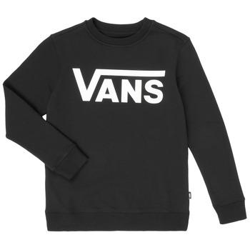 Odjeća Dječak  Sportske majice Vans VANS CLASSIC CREW Crna