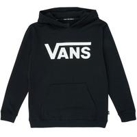 Odjeća Djeca Sportske majice Vans VANS CLASSIC PO Crna