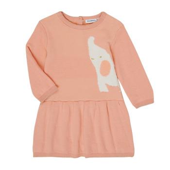 Odjeća Djevojčica Kratke haljine Noukie's Z050082 Ružičasta