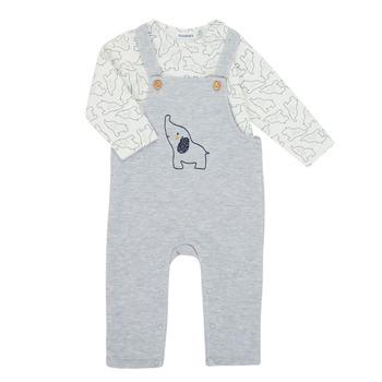 Odjeća Dječak  Dječji kompleti Noukie's Z050372 Siva