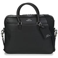 Torbe Muškarci  Poslovne torbe i aktovke Polo Ralph Lauren COMMUTER-BUSINESS CASE-SMOOTH LEATHER Crna
