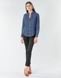 Odjeća Žene  Traperice ravnog kroja Lauren Ralph Lauren PRM STRAIGHT Crna