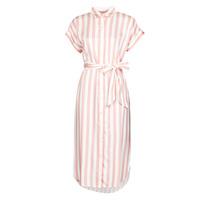 Odjeća Žene  Duge haljine Lauren Ralph Lauren CICERO Bijela / Ružičasta